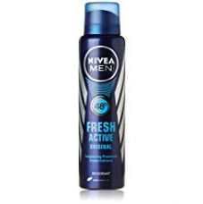Buy Nivea Fresh Active Original 48 Hours Deodorant, 150ml from Amazon