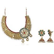 Aheli Jewellery Set for Women (Multi-Colour)(A3N6) for Rs. 1,000