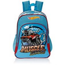 Buy Hot Wheels Blue Children's Backpack (EI-MAT0057) from Amazon