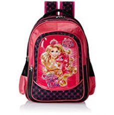 Barbie Pink and Black Children's Backpack (Age group :6-8 yrs) for Rs. 1,359