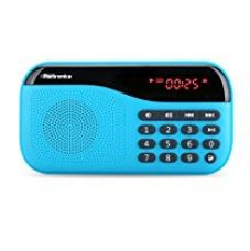 Portronics Speaker with FM Radio and MicroSD Card Support (Blue) for Rs. 926