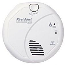 Buy First Alert CO511B Wireless Interconnect Carbon Monoxide Detector with Voice Alarm from Amazon