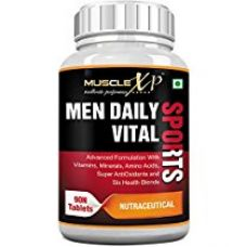 Buy MuscleXP Men Daily Sports Multivitamin (49 Nutrients, Vitamins, Minerals, Amino Acids, Anti oxidants) - 90 Tablets from Amazon