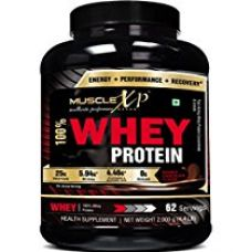 Buy MuscleXP 100% Whey Protein (New WHEY Gold Standards) - 2Kg (4.4 lbs), Double Chocolate from Amazon