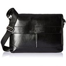 Albert and James Synthetic Black Messenger Bag for Rs. 799