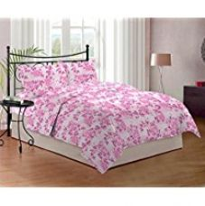 Get 50% off on Bombay Dyeing Cynthia 120 TC Polycotton Double Bedsheet with...
