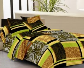 Buy IWS Cotton Floral Double Bedsheet(1 Double Bedsheet, 2 Pillow Covers, Multicolor) from Flipkart