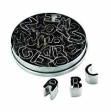 Buy Cake Boss Alphabet Mini Cutters, 26-Pieces from Amazon