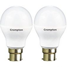 Crompton 7WDF B22 7-Watt LED Lamp (Cool Day Light and Pack of 2) for Rs. 236