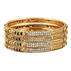 Youbella Precious Gold Plated Bangles For Women (2.8) for Rs. 269