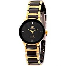 Buy IIK Collection Round Analogue Black Dial WOMEN's Watch-IIK1002W from Amazon