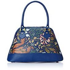 Buy Alessia74 Women's Handbag (Blue) (PBG291E) from Amazon