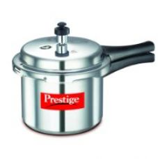 Prestige Popular Aluminium Pressure Cooker, 3 Litres for Rs. 1,011
