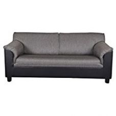 Buy Kurl-on Toledo Plus Three Seater Sofa (Black) from Amazon