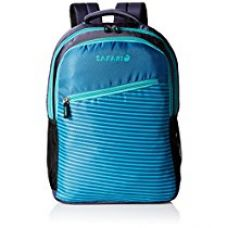 Buy Safari 25 ltrs Casual Backpack (Slide-Blue-CB) from Amazon