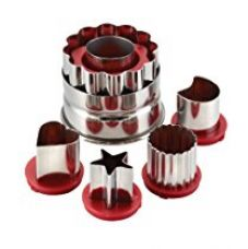 Cake Boss Everyday Linzer Cutters Set, Set of 6 for Rs. 1,269