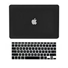 Buy TopCase Rubberized Hard Case Cover with Keyboard Cover for 15-inch MacBook Pro A1286 (Black) from Amazon