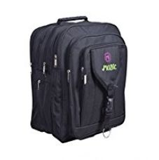 Buy Sl Magic Series Black Synthetic 40L Water Proof School Bag from Amazon