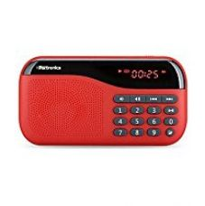 Portronics POR-143 Plugs Portable Speaker With FM & MicroSD card Support ( Red ) for Rs. 854