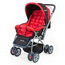 Buy LuvLap StarShine Baby Stroller – Red from Amazon