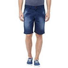 American Crew Men's Blue Denim Shorts - 30 (ACDS201-30) for Rs. 699