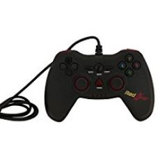Buy Redgear Highline 3607 Wired Gaming Controller (Black) from Amazon