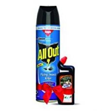 All Out Flying Insect Killer (600ml) + Muscle Toilet Cleaner for Rs. 300