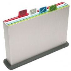 Buy Joseph Joseph Index Large Plastic Chopping Board, Silver from Amazon