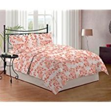 Get 50% off on Bombay Dyeing Cynthia 120 TC Polycotton Double Bedsheet with ...