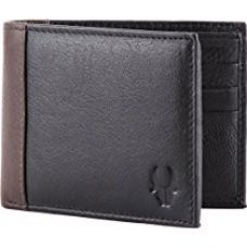 WildHorn Black Men's Wallet for Rs. 399