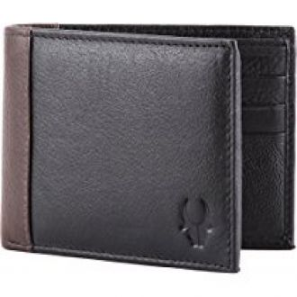 Buy WildHorn Black Men's Wallet from Amazon