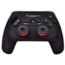 Dragon war Shock Unlimate Wireless Gamepads With Built in rechargeable battery and Plug and Play support for all PC games supports Windows 7 / 8 / 8.1 / 10 for Rs. 1,500