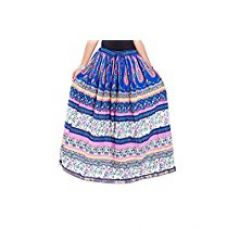 Decot Paradise Women's Cotton Printed Design Fit Skirt for Rs. 569