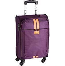 Buy Safari Racin Polyester 55 cms Purple Soft sided Suitcase (Racin-55-Purple-4WH) from Amazon