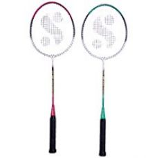Buy Silver's Sb-414 Gutted Badminton Rackets(Multicolor) from Amazon