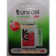 Buy Uniross 210 mAh Rechargeable Battery (White) from Amazon