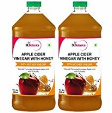 Buy St.Botanica Apple Cider Vinegar with Mother Vinegar and Honey - 500 ml (Pack of 2) from Amazon