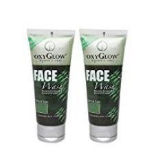 Buy Oxyglow Neem and Tulsi Face Wash, 100ml (Pack of 2) from Amazon