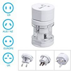Buy SeCro International Travel Adapter All In One ( EU, US ,AUS,NZ,Europe,UK) 150+ Countries from Amazon