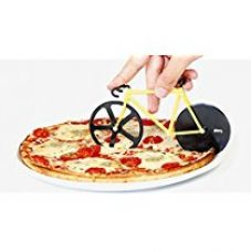 Okayji Unique Bicycle Shape Pizza Cutter (Random Colour As Per Availability) for Rs. 350