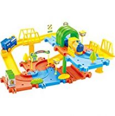 Buy Saffire Classic Toy Train Set 15, Multi Color from Amazon