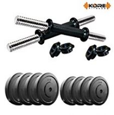 Buy Kore DM-20KG COMBO16 Dumbbells Kit from Amazon