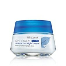 Oriflame Optimals White Oxygen Boost Night Cream - 50g for Rs. 470