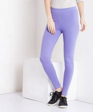 Flat 50% off on Yepme Tracey Essential Leggings - Purple