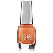 Lakme True Wear Color Crush Nail Color, Orange 52, 9 ml for Rs. 139