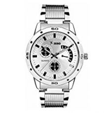 Buy Xeno Analogue Chronograph Silver Metal Silver Dial Watches for Boys from Amazon