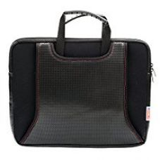 BagaHolics Genuine Neoprene 14 Inch Laptop and Tablet Sleeve Bag with Front and Back Pocket (Black) for Rs. 450