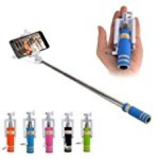 Buy Classytek Selfie Stick Mini With Aux Cable For iPhone, Android, Windows Phone ,Multicolor from Amazon
