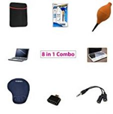 Buy RiaTech™ 8 in 1 Combo 15.6 Inch Laptop Screen Guard, Silicone Keyboard Protector,Laptop 15.6