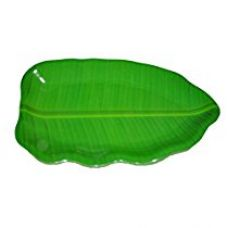 Buy Hua You 14 inch Banana Leaf Shape South Indian Dinner Lunch Serving Melamine Platter Plate Tray For All Occasions - 1 Pcs from Amazon